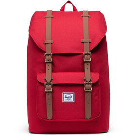 Herschel Little America Mid-Volume Sac à dos 17L, red/saddle brown